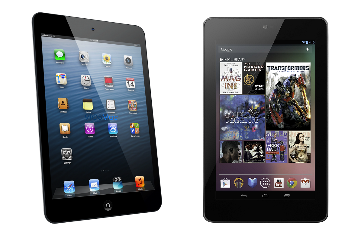 Apple Ipad Vs Kindle: Comparing: IPad Mini, Google Nexus 7 & Amazon Kindle Fire